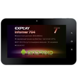 Explay Informer 704 планшет за 4 тыс. рублей