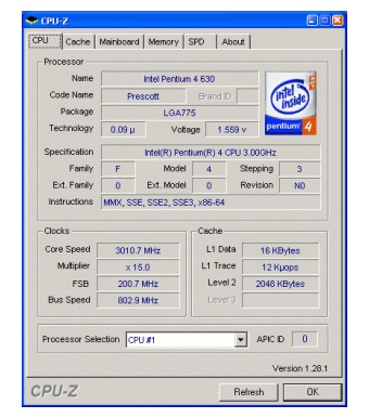 Enhanced Intel SpeedStep
