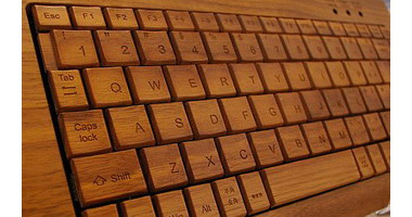 Деревянная клавиатура, Wood Keyboard