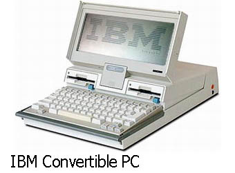 Ноутбук IBM Convertible PC