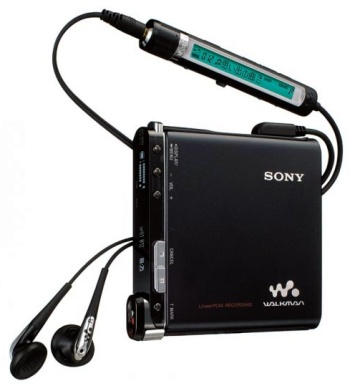 Sony Hi-MD WALKMAN MZ-RH1
