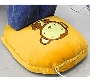 USB Big Slippers (Monkey)