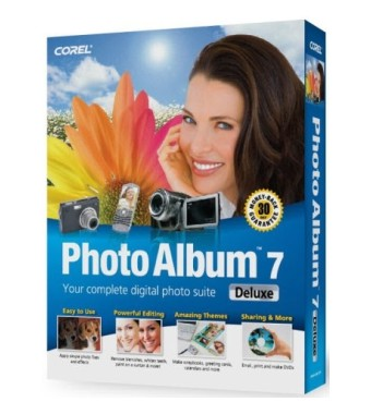 Corel Photo Album 7 Deluxe