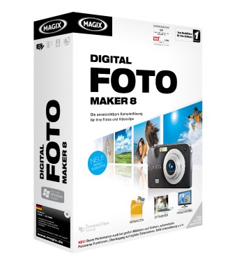 MAGIX Digital Photo Maker 8