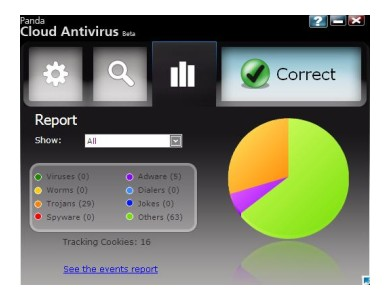 Panda Cloud Antivirus Beta2