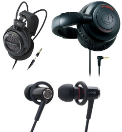 Наушники Audio-Technica TAD500 ATH-BB500 ATH-CKN50