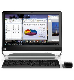 Моноблоки HP TouchSmart Elite 7320 All-in-One Business PC и HP Pro 3420
