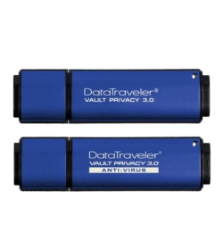 USB-накопители Kingston DataTraveler Vault Privacy 3.0 и Vault Privacy Anti-Virus