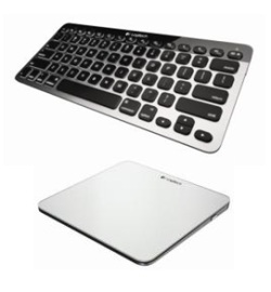Клавиатура и сенсорная панель для Мас Logitech Bluetooth Easy-Switch Keyboard Logitech Rechargeable Trackpad