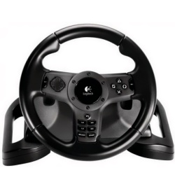 Беспроводной руль Logitech Driving Force Wireless Force Feedback Racing Wheel