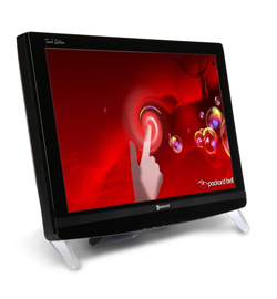 Монитор Packard Bell Viseo 200T Touch Edition. Неттоп Packard Bell imedia XS