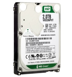 HDD WesternDigital WD Green