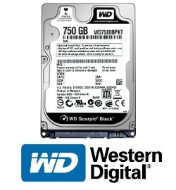 Жесткий диск Western Digital Scorpio Black