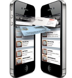 Приложение для iPhone ABBYY Business Card Reader 4.6