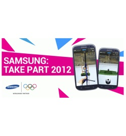 Приложение для смартфонов Samsung: Take Part 2012
