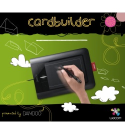 Приложение Wacom Bamboo Card Builder для социальной сети Facebook