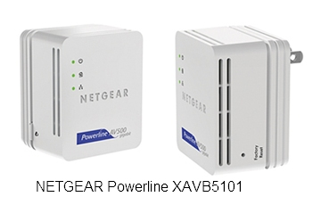 Адаптер NETGEAR Powerline XAVB5101