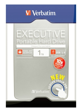 Внешний жесткий диск (HDD) Verbatim Store 'n' Go Executive 1TB USB 3.0