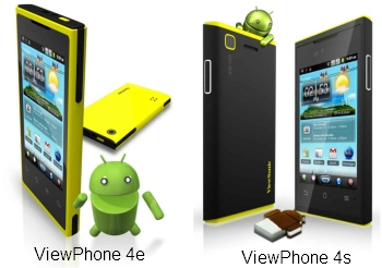ViewPhone 4e, 4s